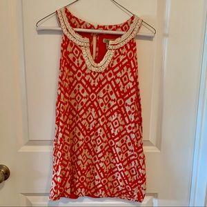 Lucky brand sleeveless tunic size XL